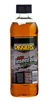 Products | Diggers Raw Linseed Oil | Recochem - Australia